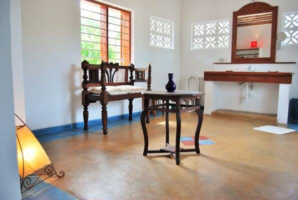 pristine and laidback bathroom inside villa for rent in Zanzibar